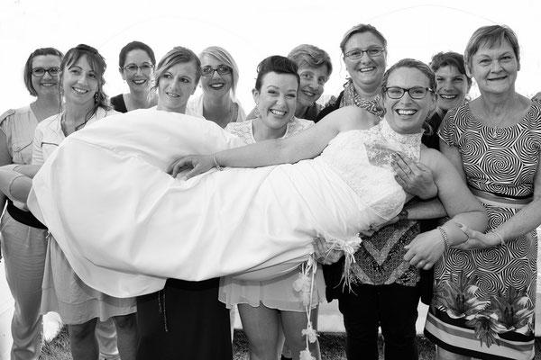 photo mariage groupe, animation photobooth, photographe Normandie