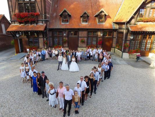 mariage, photos,photographe,reportage,photos photos de groupe,Normandie,valeriecphotographies