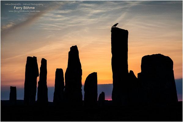 Callanish - Steinkreis; Äußere Hebriden