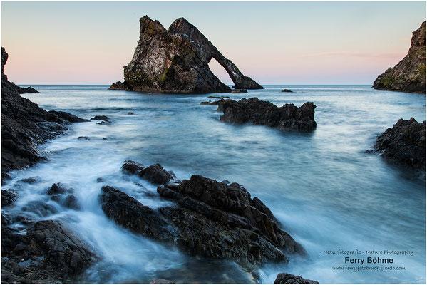 Bowfiddle Rock - Schottland