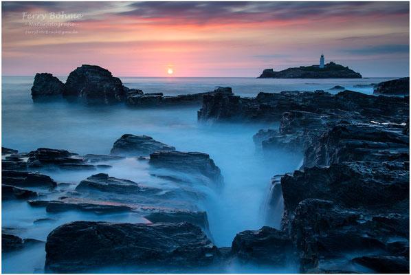 Träumerei an der Küste von Cornwall