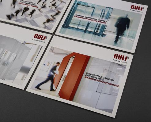 GULP Broschüren / nakami lounge