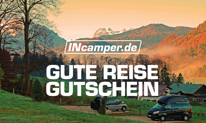 Logo, Geschäftsausstattung, Flyer, Gutschein / INcamper.de