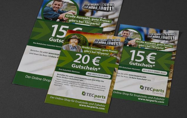TECparts Gutscheinfolder / BayWa
