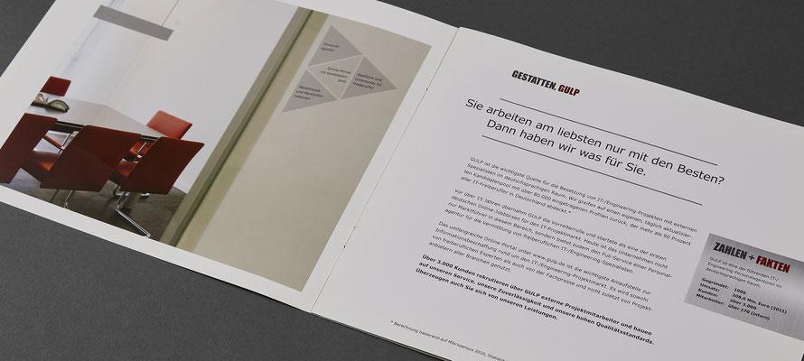 GULP Broschüre / nakami lounge