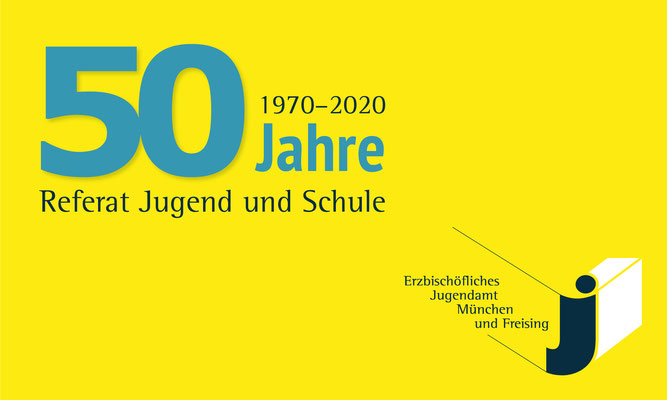 Jubiläumslogo / Erzbischöfliches Jugendamt München und Freising