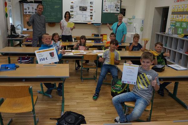 1. Platz der Volksschule: 3.Klasse der VS St. Paul