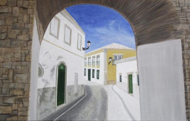 Calle del Sol, 75x116 cm