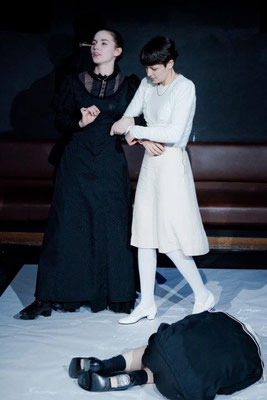 "Victoria Halper and Verena Lercher in ""The Turn of the Screw"" (Directed by: Manuel Czerny; Schauspielhaus Graz. 2011)"