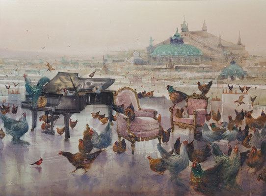 Baroco-co, watercolor, 53x73cm