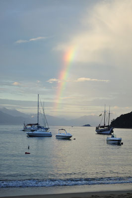 Ilha Grande - Sunset with Rainbow