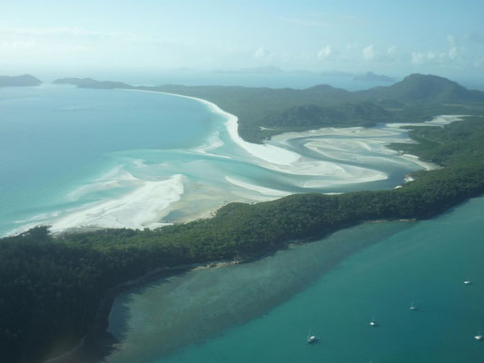Hill Inlet (by plane)