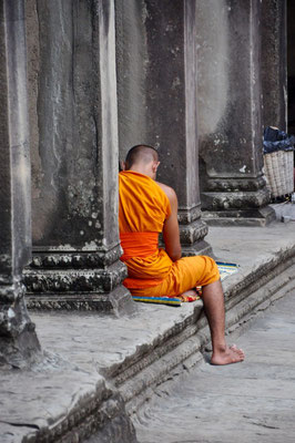 Mönch, Kombodscha