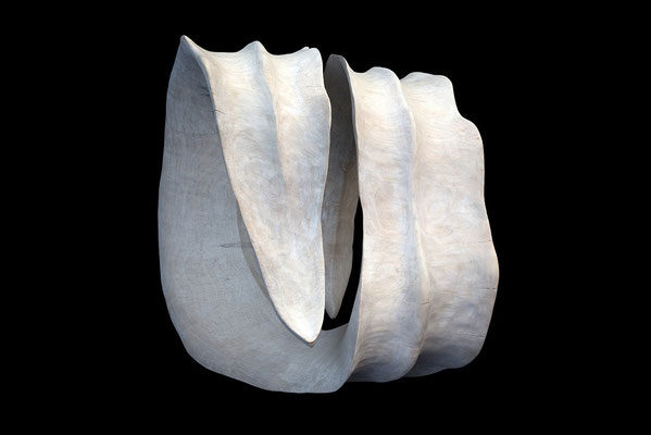 Skulptur Capriola aus Holz / sculpture Capriola, wood