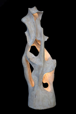 Skulptur aus Holz / sculpture, wood