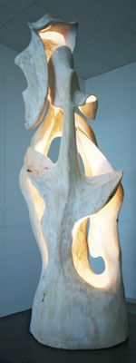 Skulptur Holz Agape