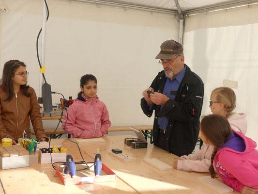 Betreut wurden wir von einem netten Team aus dem Technikmuseum Freudenberg.