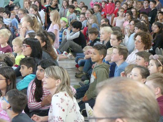 Alle Zuhören waren beeindruckt.