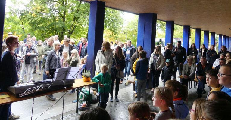 Ein gut besuchtes Schulfest sorgte für gute Einnahmen.