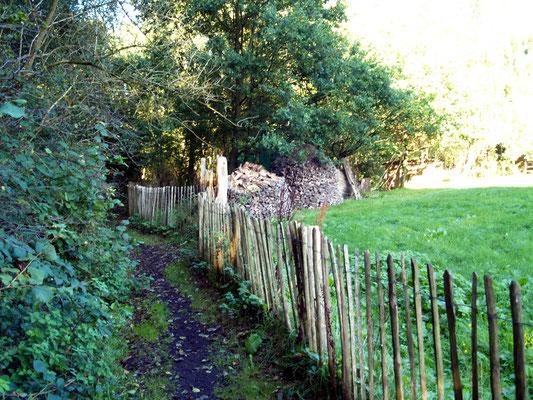 Wanderweg beim Bronzezeithof