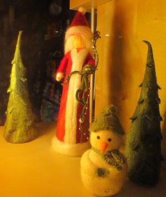 Gefilzte Weihnachtsfrau
