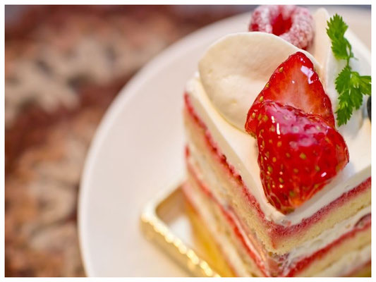 当店自慢のショートケーキです。