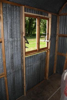 Holzständerkonstruktion für soliden Halt