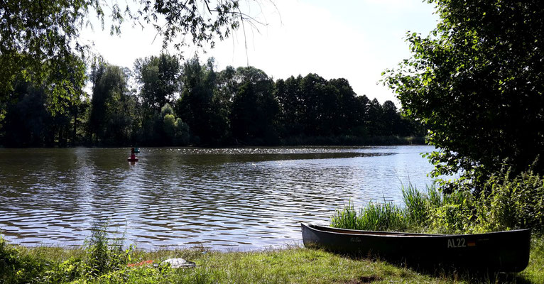 nächstes Lager im Wald nahe Leißnitz