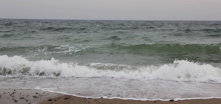 Warum macht das Meer solch einen Lärm???