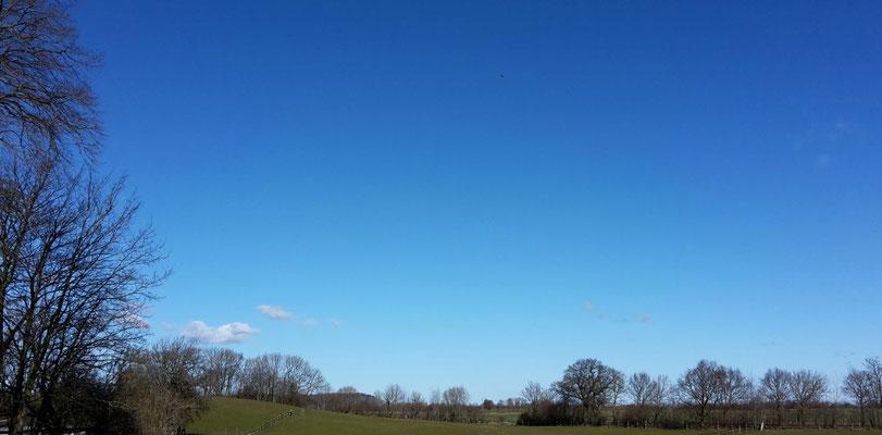 ...gab es Samstagvormittag wenigstens tolles Wetter