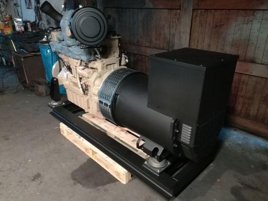 Dieselelektrischer antrieb