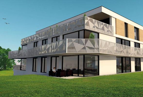 Mehrfamilienhaus Mümliswil Aussen - S&S Totalunternehmung AG Ihr Partner für Gesamtleistungen