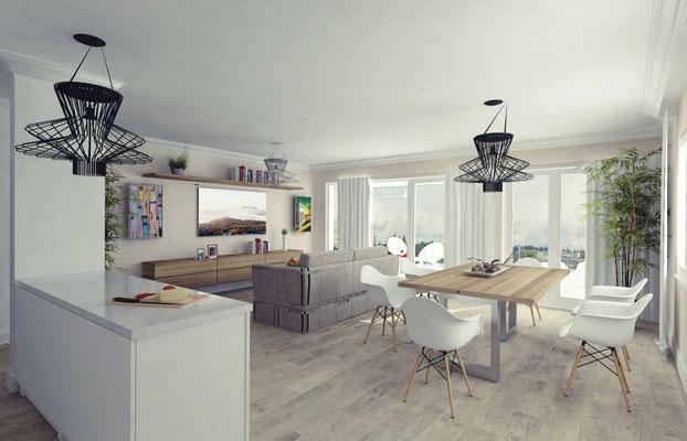 Neubau Mehrfamilienhaus Neuendorf - S&S Totalunternehmung | Ihr Partner für Gesamtleistungen
