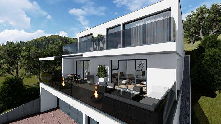 Neubau Zwei Einfamilienhaus Mümliswil- S&S Totalunternehmung | Ihr Partner für Gesamtleistungen