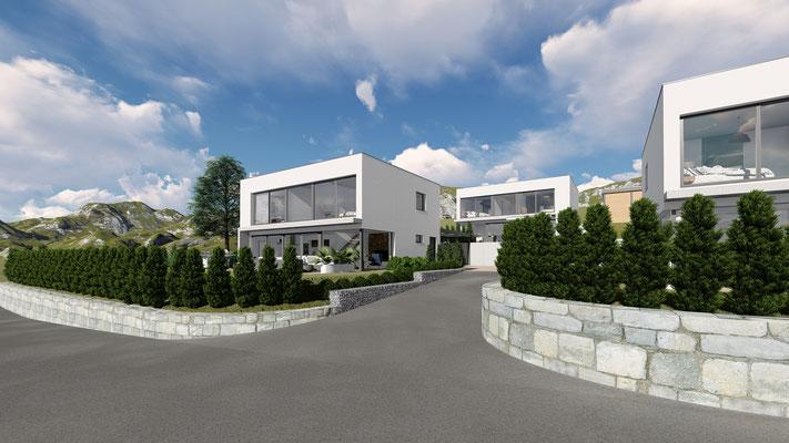 Neubau Einfamilienhaus Mümliswil - S&S Totalunternehmung | Ihr Partner für Gesamtleistungen