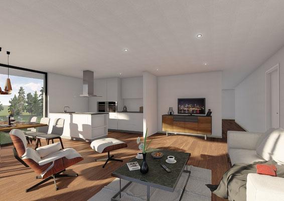 Neubau Mehrfamilienhaus Mümliswil - S&S Totalunternehmung | Ihr Partner für Gesamtleistungen