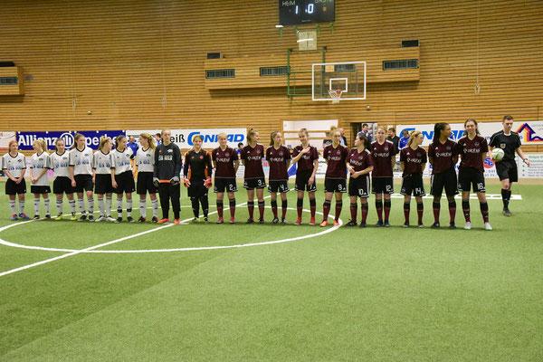 Aufstellung zum Endspiel - Mittlere Vils - FCN