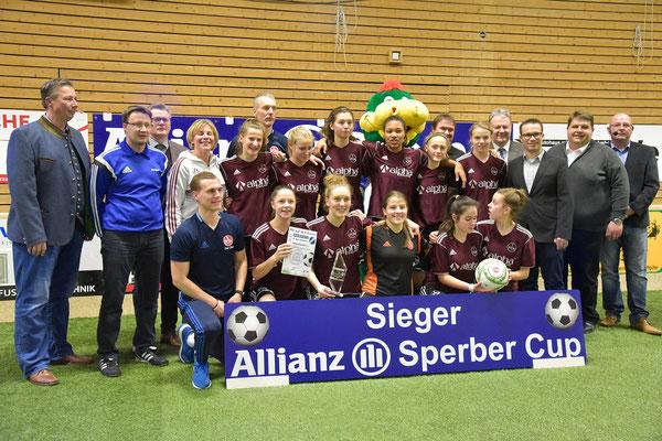 Die Sieger, die Mädes vom 1. FC Nürnberg