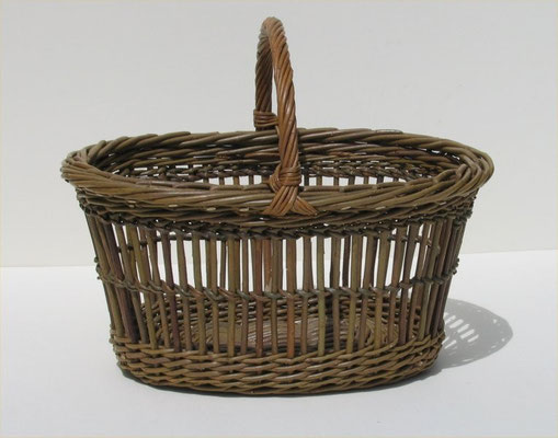 Fitched Oval Shopping Basket