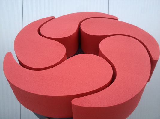 Styrodur® (XPS) mit Acryllack seidenmatt