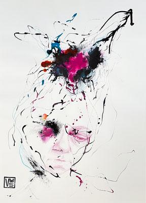 Metamorphose 6, 42 x 59,4 cm, Mischtechnik
