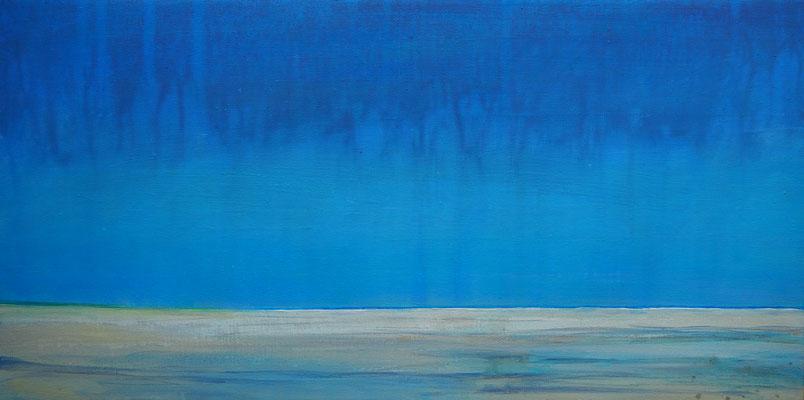 Grenen summer flow acryl on canvas  30 cm / 60 cm