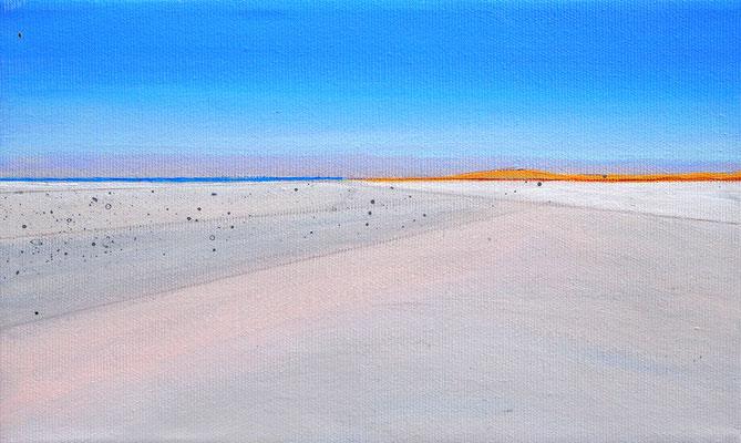 Dansk sommer 5  acryl on canvas  18 cm / 30 cm