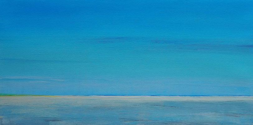 Grenen summer heat acryl on canvas  30 cm / 60 cm