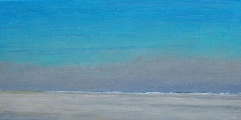 Grenen summer winds acryl on canvas  30 cm / 60 cm