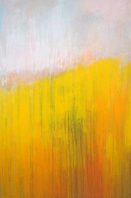 summer's brightness acryl on canvas  150 cm / 100 cm