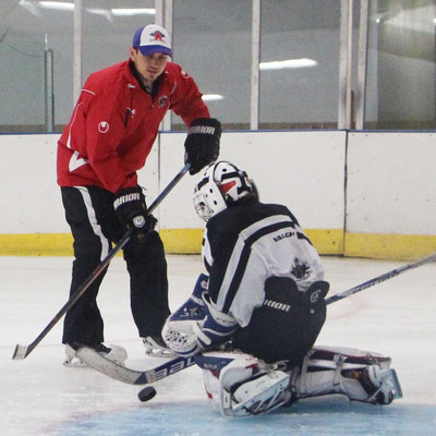 Matt White, Goalie Coach