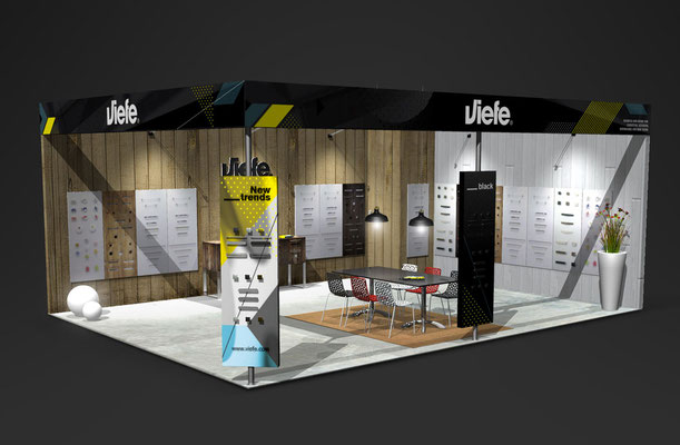 Viefe Interzum - 3d design