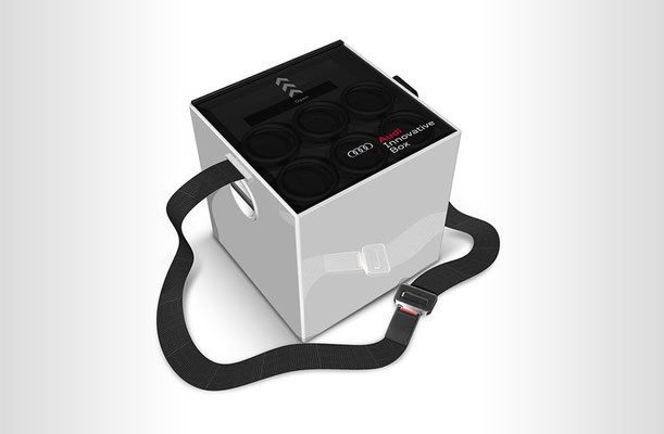 Audi Innovative Box- 3d design