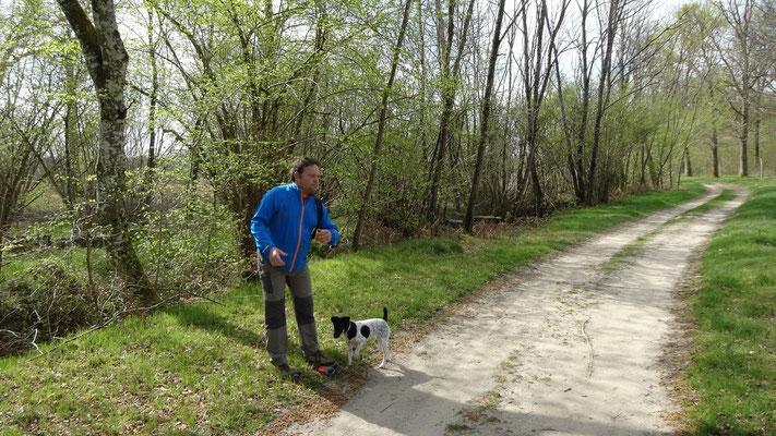 13-04-2014 - Thierry - Marche du Raboliot à Sennely